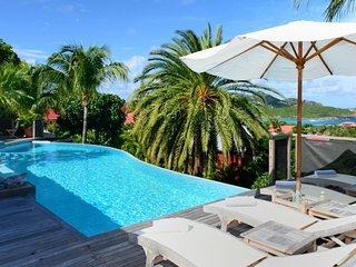 Villa La Desirade  # Ocean View - Located in  Tropical Saint Jean with Private P