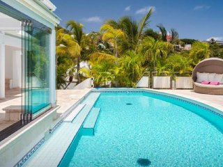 Villa La Rose Des Vents  ^ Beach View :: Located in  Fabulous Grand Cul de Sac w