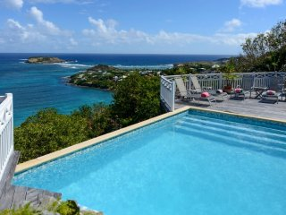 Villa Milonga ^ Ocean View # Located in  Tropical Marigot with Private Pool