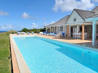 Villa Oui ^ Beach View # Located in  Wonderful Petit Cul de Sac with Private Poo