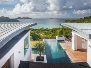 Villa Wings  # Ocean View * Located in  Stunning Saint Jean with Private Pool