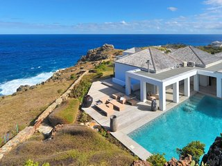 Casa Del Mar  ^ Ocean Front | Located in  Tropical Petit Cul de Sac with Private