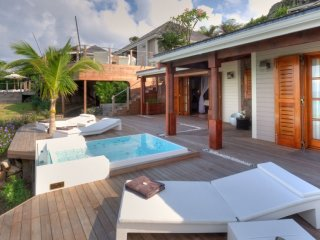 Villa Indian Song  # Beach View # Located in  Exquisite Petit Cul de Sac with Pr