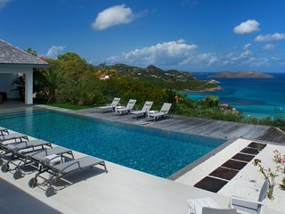 Villa Wine Note  :: Ocean View | Located in  Fabulous Saint Jean with Private Po