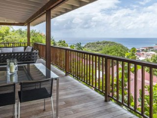 Villa Angelina  | Ocean View | Located in  Magnificent Gustavia with Private Poo