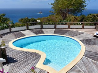 Villa Taniko ^ Ocean View | Located in  Stunning Colombier with Private Pool