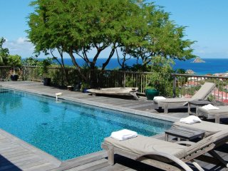 Villa Serenity  - Ocean View :: Located in  Wonderful Gustavia with Private Pool