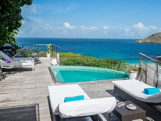 Villa Roc Flamands 11  (Our Villa Has A Spectacular Ocean View On Flamands Beach