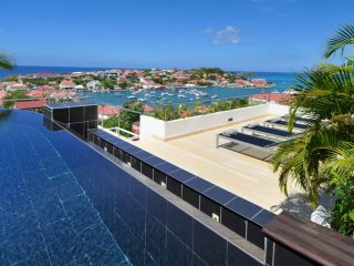Villa Prestige  * Ocean View # Located in  Stunning Gustavia with Private Pool