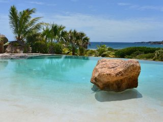 Villa La Roche Dans L'Eau Ocean View Located in Magnificent Grand Fond wit