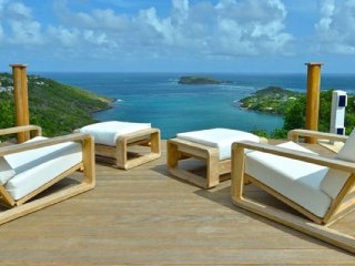 Villa Bel Ombre Ocean View Located in Tropical Marigot with Private Pool