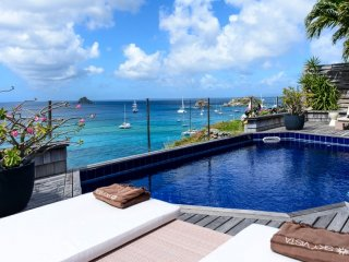 Villa Sky Vista  * Ocean Front ^ Located in  Stunning Gustavia with Private Pool