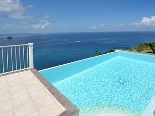 Villa Manon  - Ocean Front # Located in  Stunning Colombier with Private Pool