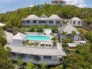 Villa Amalia  * Ocean View - Located in  Stunning Marigot with Private Pool