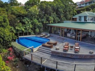Villa Kuban  ^ Ocean View ^ Located in  Tropical Colombier with Private Pool