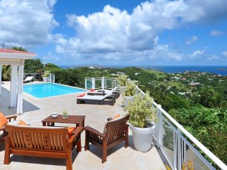 Villa Au Coeur Du Rocher - Ocean View * Located in  Exquisite Vitet with Private