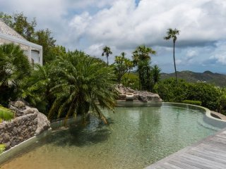 Villa L'Oustau (Magnificent, It Overhangs Saint Jean Bay, The Ocean And The Isla
