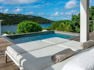 Villa Teora  # Ocean View - Located in  Fabulous Marigot with Private Pool