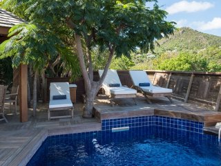 Villa Salamandres  * Ocean View :: Located in  Tropical Vitet with Private Pool