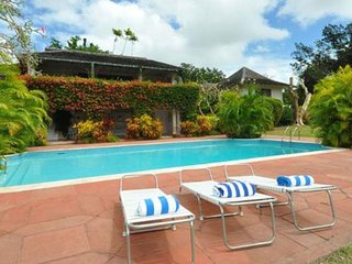 Villa Cristalga  * Near Ocean * Located in  Beautiful Sandy Lane with Private Po