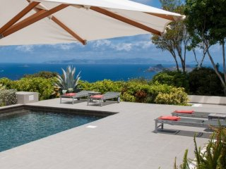 Villa Belle Bague  | Ocean View ^ Located in  Magnificent Colombier with Private