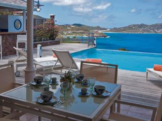 Villa L'Abri Cotier  # Ocean View :: Located in  Beautiful Pointe Milou with Pri