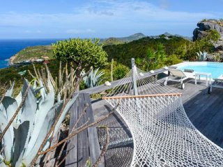 Villa Byzance  # Ocean View * Located in  Magnificent Colombier with Private Poo