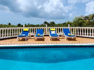 Villa Belle Mer  # Ocean View # Located in  Beautiful Orient Bay with Private Po