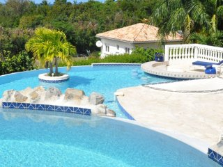 Villa Cascades  | Ocean View * Located in  Exquisite Terres Basses with Private