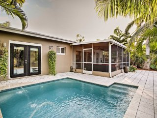 Waterfront Wilton Manors Home w/ Pool & Boat Dock!