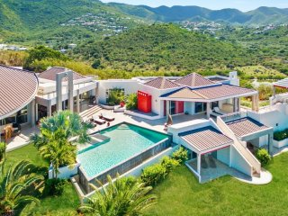 Villa Belle De Nuit 5 Bedroom (Sitting In The Very Private Enclave Of Mont Chois