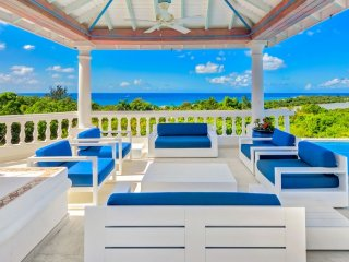 Villa La Bella Casa  # Ocean View :: Located in  Wonderful Terres Basses with Pr