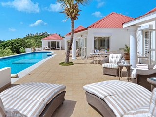 Villa Terrasse De Mer  # Beach View * Located in  Tropical Terres Basses with Pr