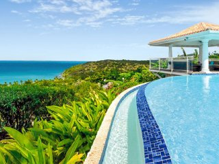 Happy Bay Villa  | Beach View * Located in  Beautiful Happy Bay with Private Poo