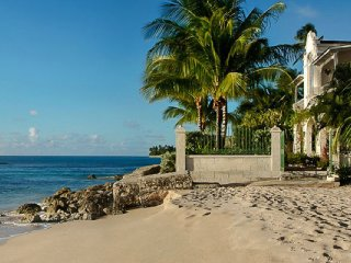 Villa Caprice | Beach Front - Located in Magnificent Saint James with Private