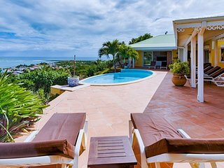 Villa Coccinelle 4 Bedroom (Located In Orient Bay, With A Gorgeous View Over Ang