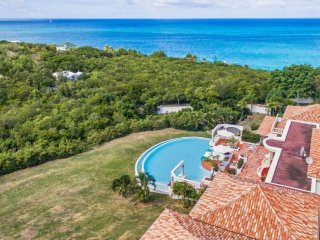 Villa Mariposa :: Ocean View | Located in  Beautiful Terres Basses with Private