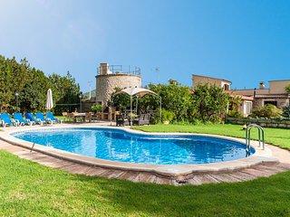 ES MOLINET - Villa for 10 people in Sa Pobla