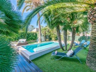 CRESPI :) Villa coqueta en Playas de Muro para 4 personas. WiFi gratis