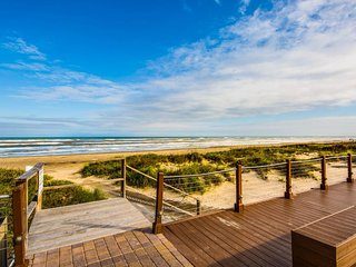 Dog-friendly oceanfront condo w/great views, beach access & shared pool/hot tub