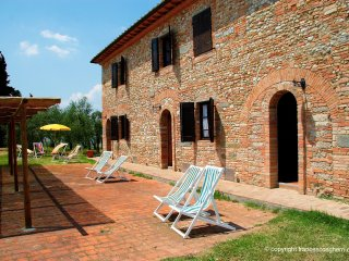 2 bedroom Apartment in Poppiano, Tuscany, Italy : ref 5491608