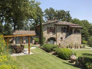 6 bedroom Villa in Lucignano, Tuscany, Italy : ref 5490560