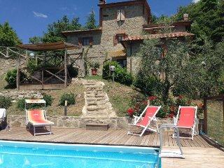 3 bedroom Villa in Arezzo, Tuscany, Italy : ref 5490535