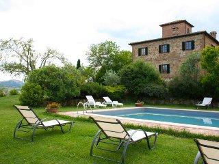 7 bedroom Villa in Montepulciano, Tuscany, Italy : ref 5490420