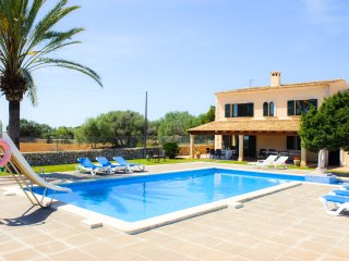 5 bedroom Villa in Cala Ferrera, Balearic Islands, Spain : ref 5489599