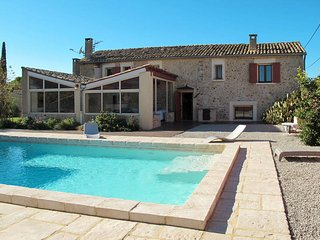 4 bedroom Villa in Les Buissonnades, Provence-Alpes-Cote d'Azur, France : ref 54