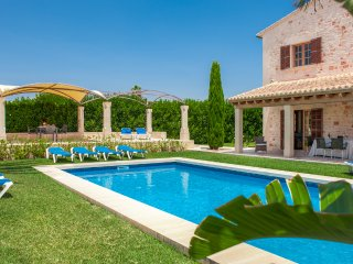 5 bedroom Villa in es Llombards, Balearic Islands, Spain : ref 5489142