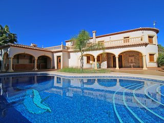 4 bedroom Villa in Moraira, Valencia, Spain : ref 5487679