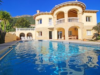 4 bedroom Villa in Calpe, Valencia, Spain : ref 5487652