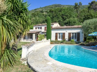 4 bedroom Villa in Vence, Provence-Alpes-Cote d'Azur, France : ref 5487616